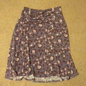 Knee-length Azure skirt, size 2XL